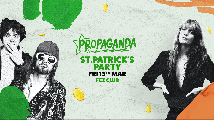 Propaganda Cambridge – St Patrick's Party