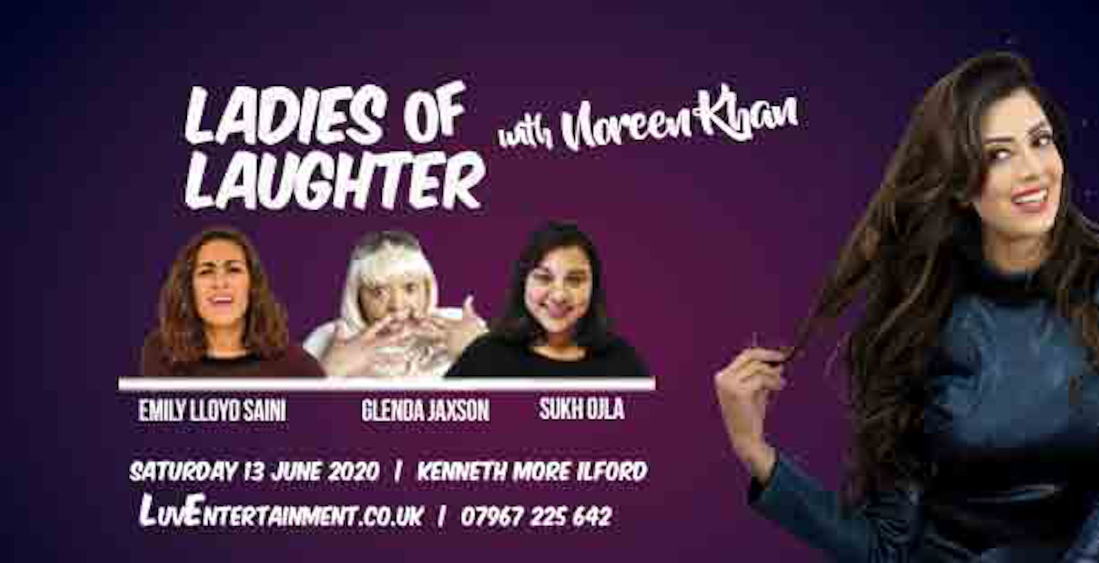 Ladies Of Laughter With Noreen Khan : Ilford