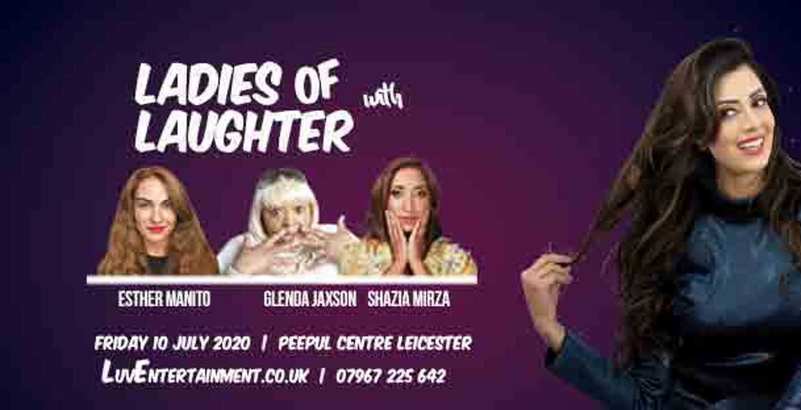 Ladies Of Laughter With Noreen Khan : Leicester