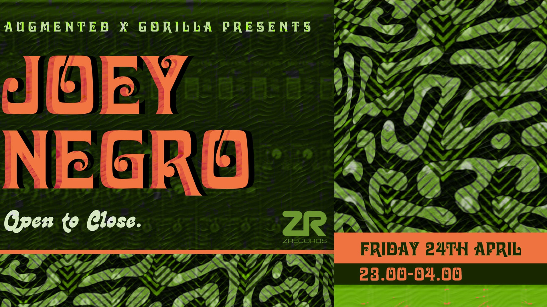 POSTPONED: Joey Negro – Open To Close