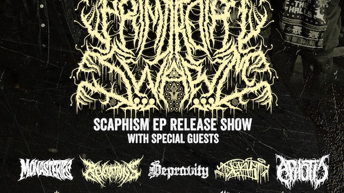 "Primordial Swarm 'Scaphism"" EP Release"
