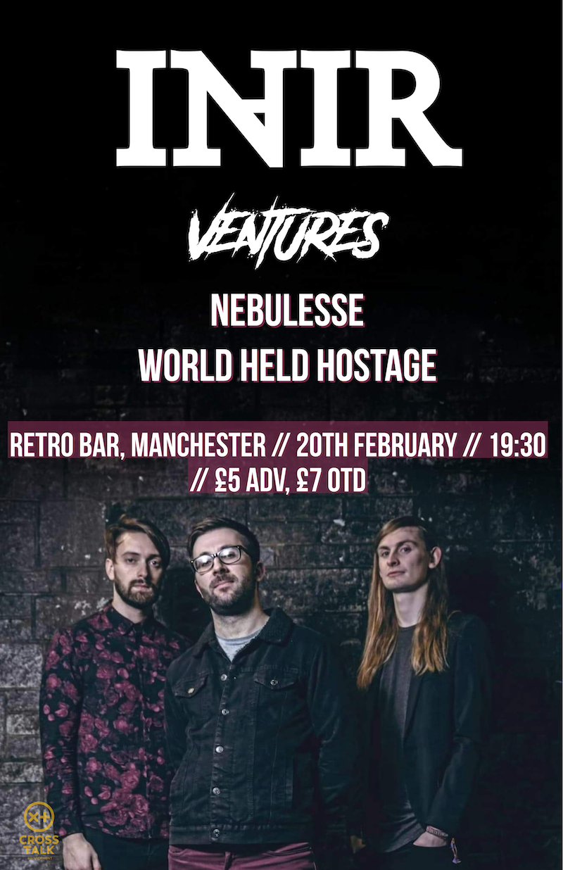 InAir At Retro Bar, Manchester With Support From Ventures + More