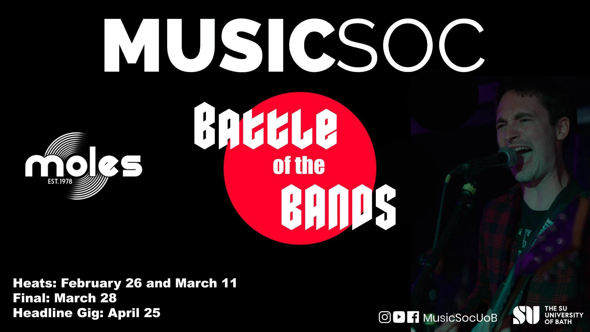 MusicSoc: Battle of the Bands – Heat 1