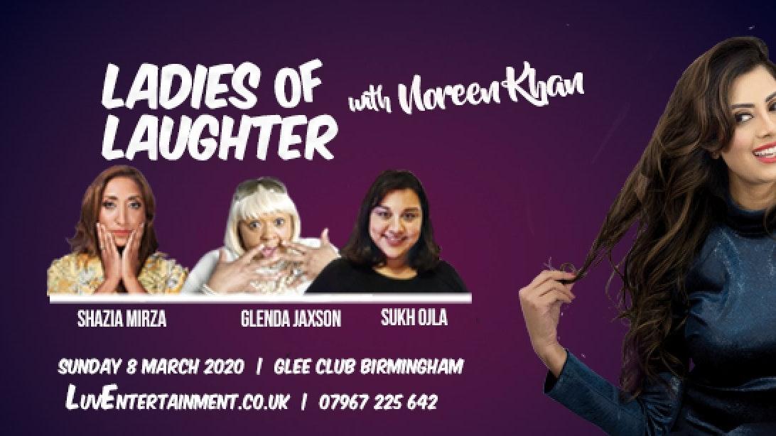 Ladies Of Laughter With Noreen Khan – Birmingham