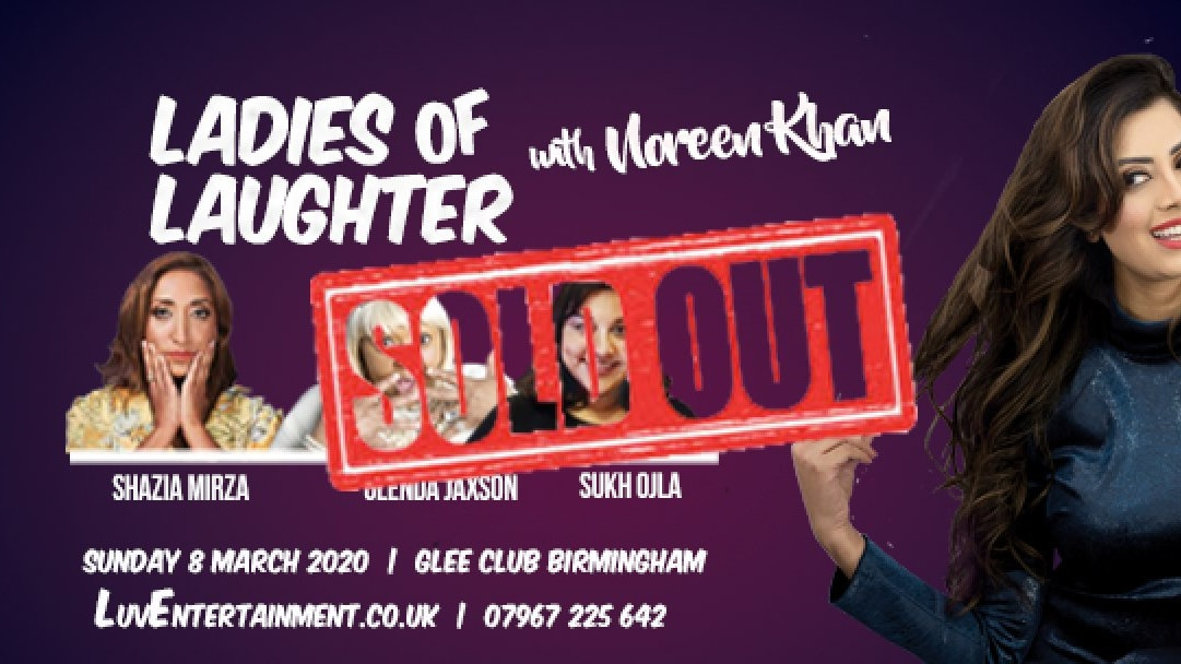 Ladies Of Laughter With Noreen Khan – Birmingham