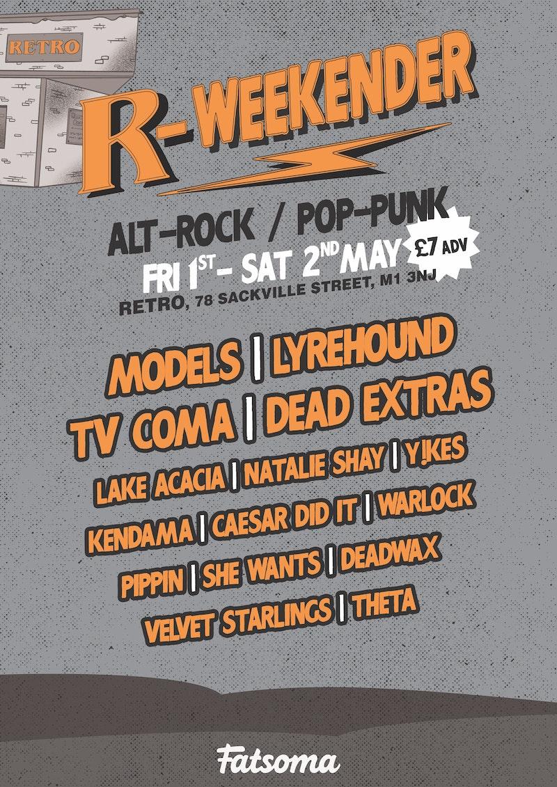 R-WEEKENDER: ALT ROCK/POP PUNK