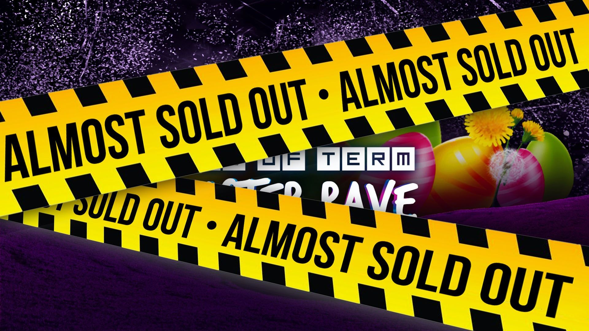 The End Of Term Easter Rave @ Fabric! /// First 300 Tickets SOLD OUT in 3 MINS! £5 & £6 TICKETS SOLD OUT! 75% SOLD OUT