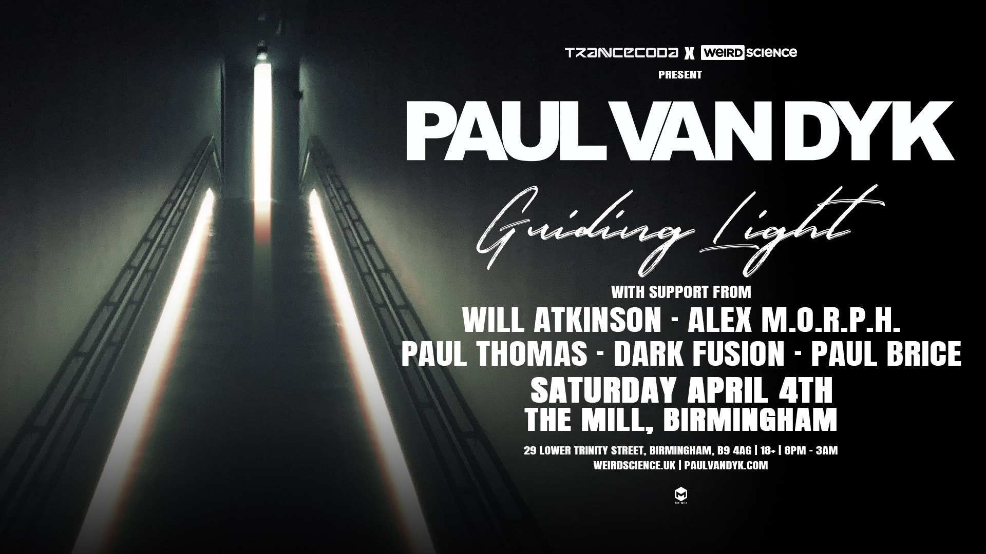 Paul van Dyk Guiding Light : Birmingham