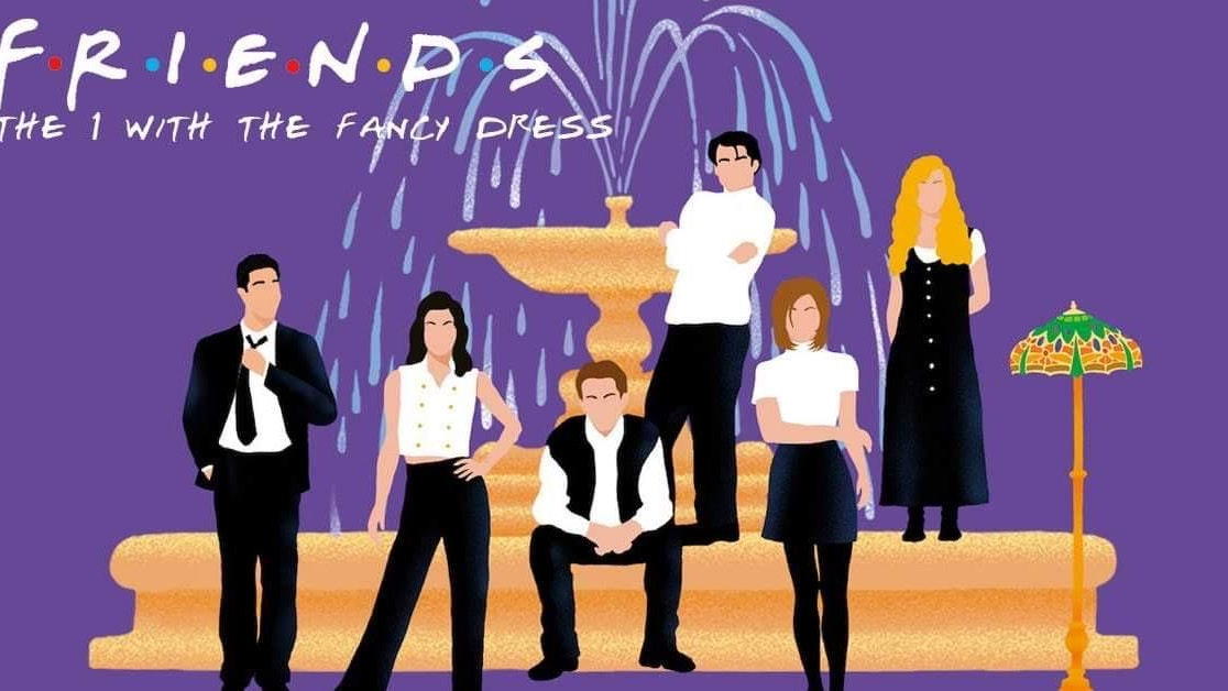 Friends Night – The One With The Fancy Dress