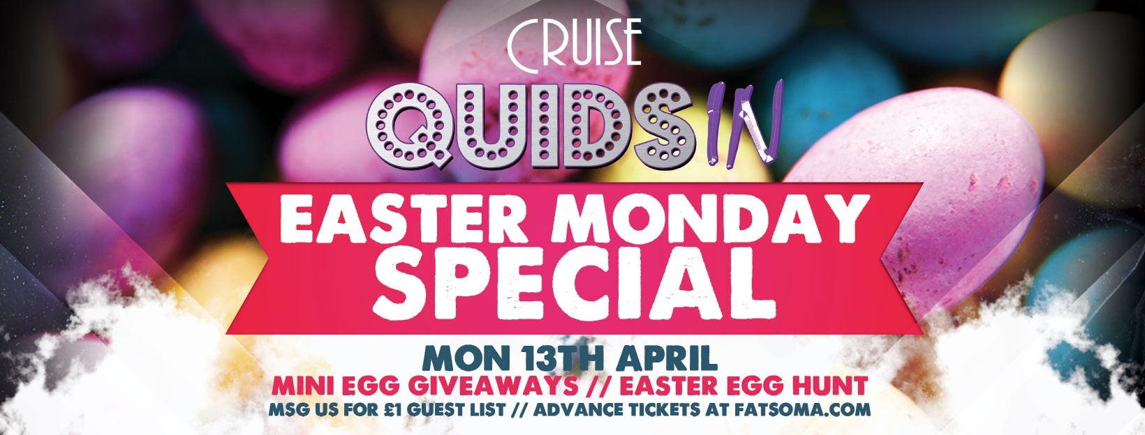 Quids In Chester – Easter Monday Special