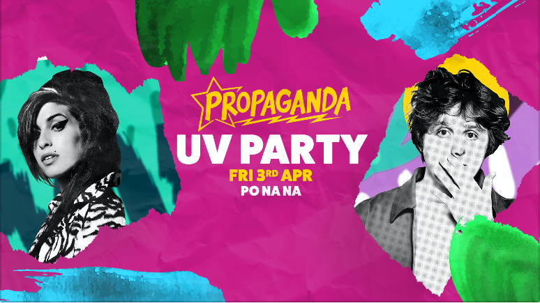 Propaganda Bath – UV Party