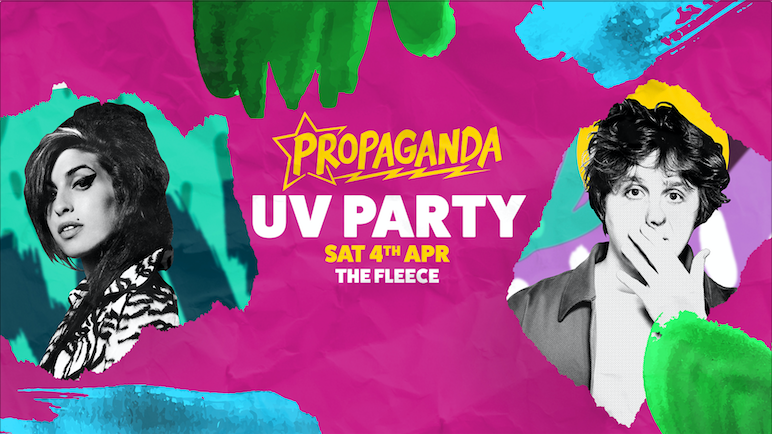 Propaganda Bristol – UV Party
