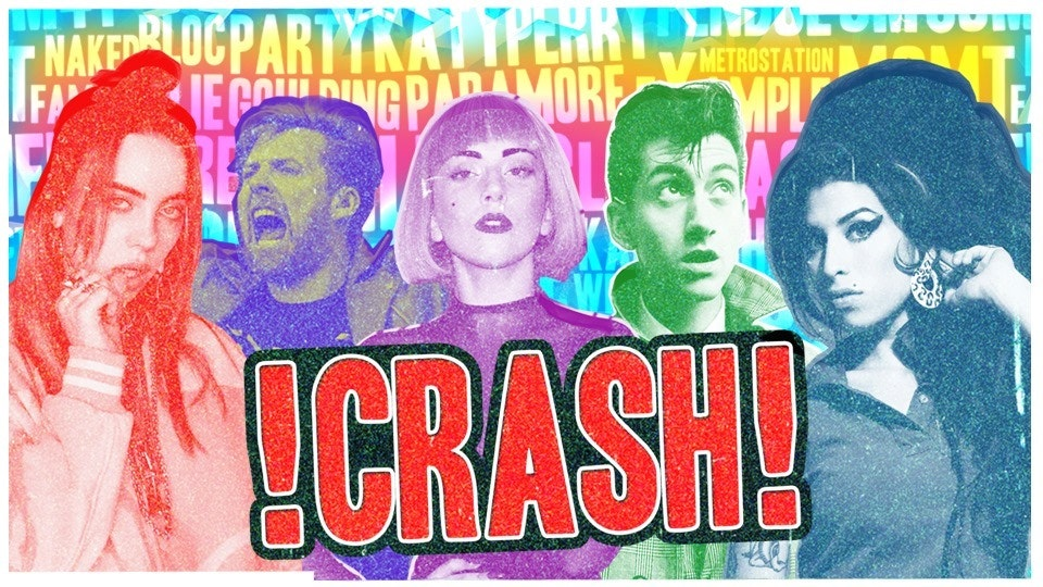 CRASH – The Pop & Indie Smash-Up! 2 4 1 Drinks all night!