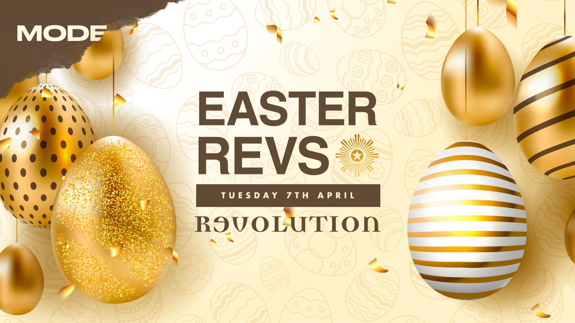 Mode Presents: Easter Revs – 7th April