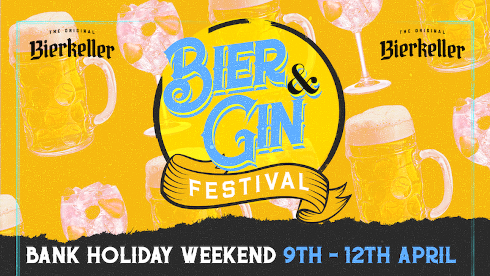 Sunday – Bier & Gin Festival (Bank Holiday)