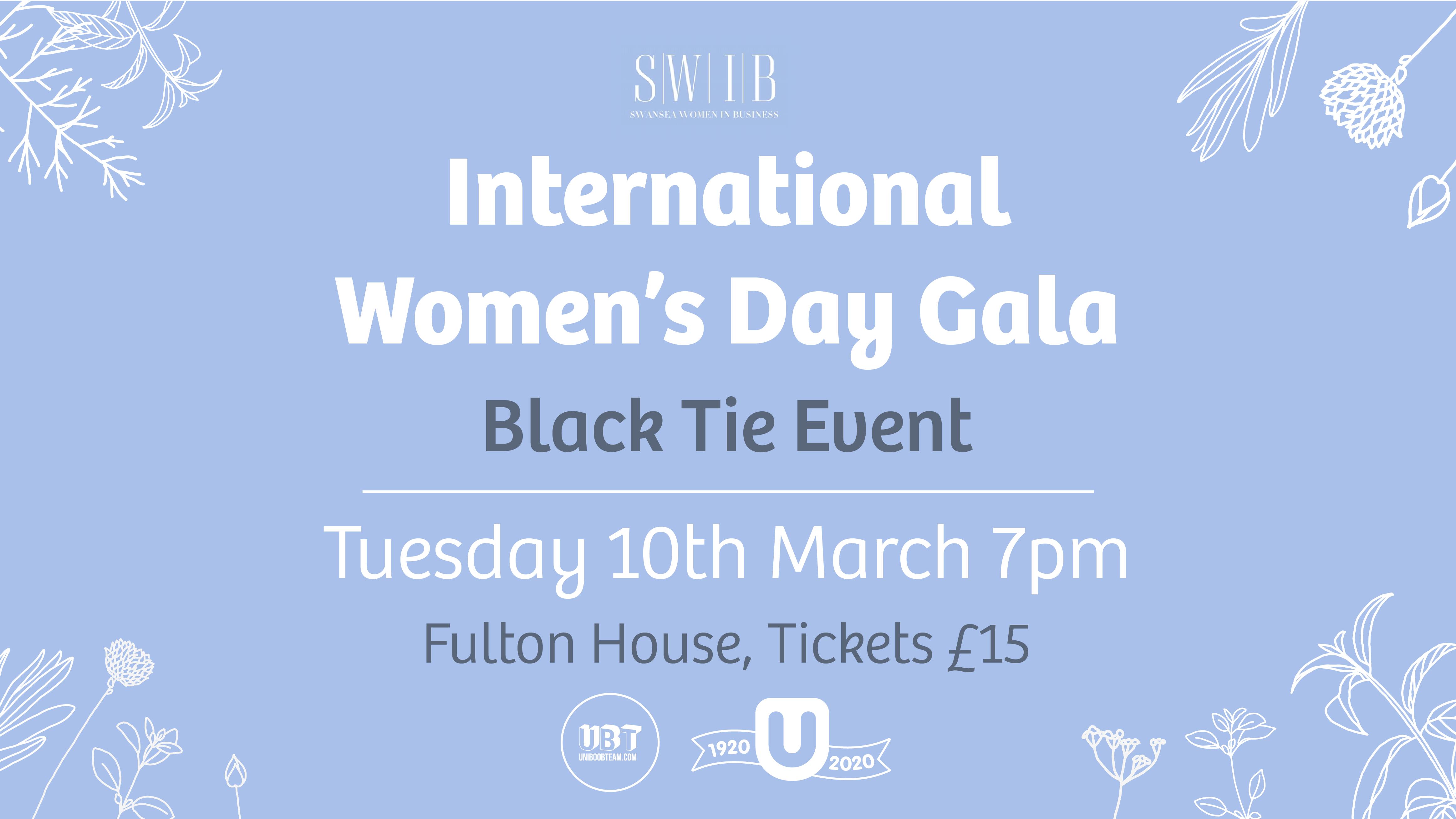 International Women's Day – Gala Dinner