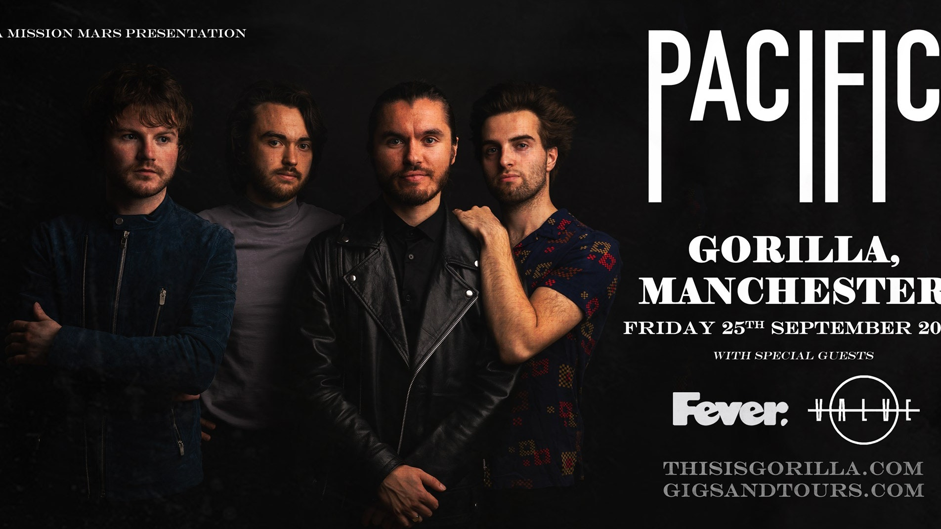 NEW DATE: Pacific