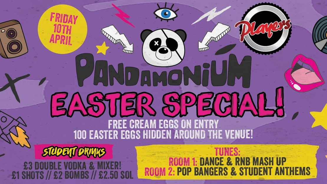 Pandamonium Fridays – Easter Friday Special