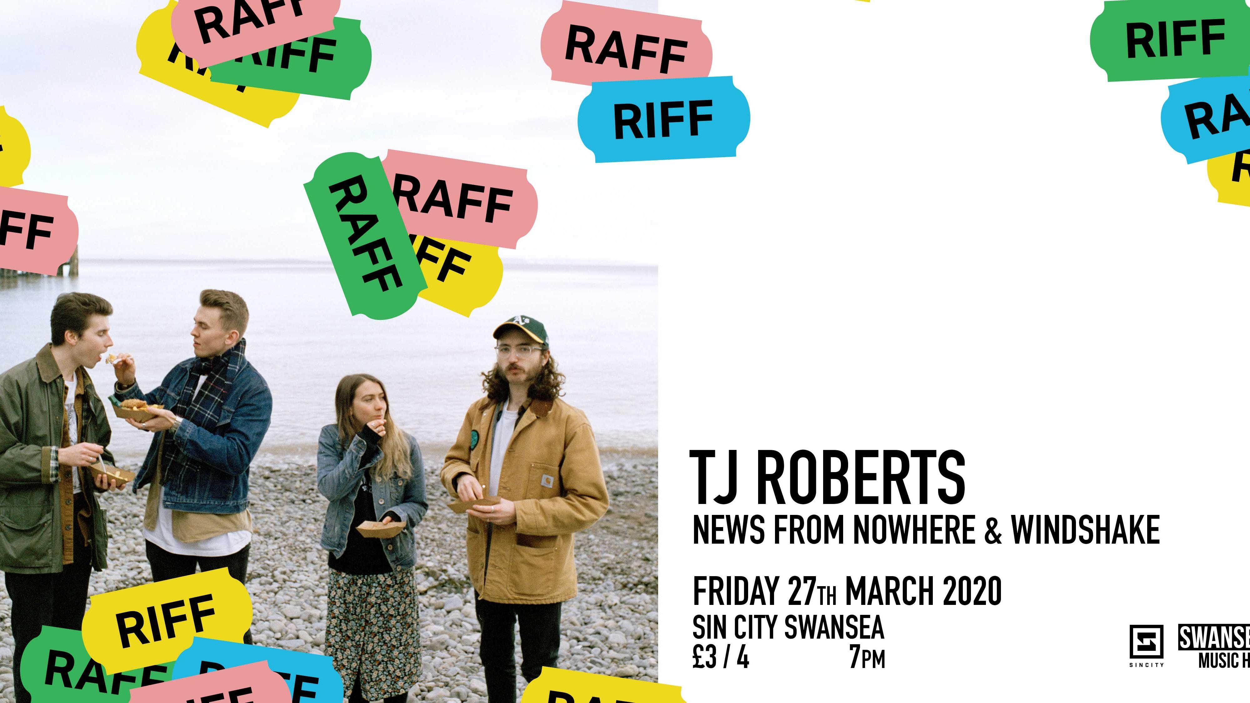 RIFF RAFF Introduces TJ Roberts