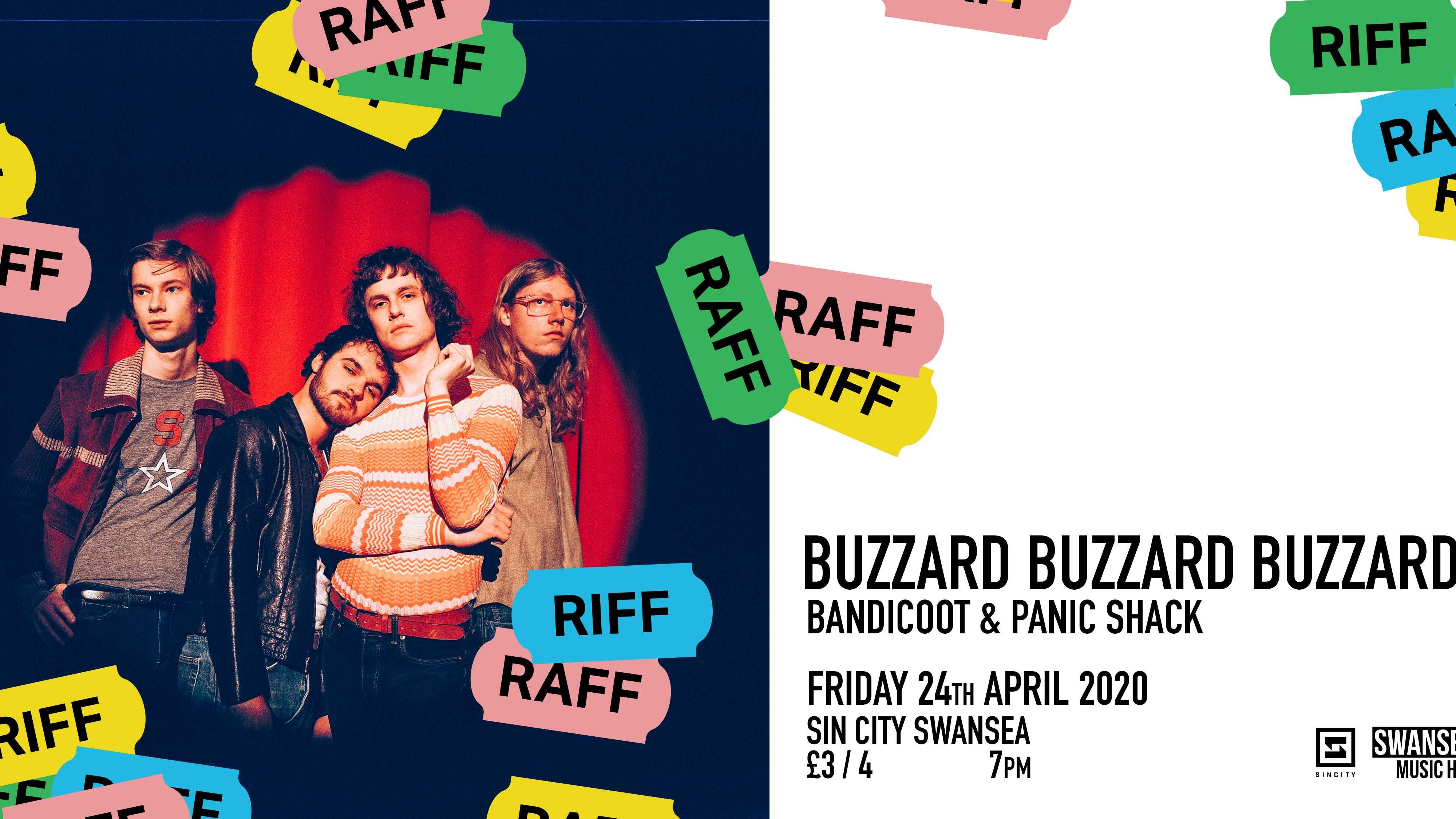 RIFF RAFF Introduces BUZZARD BUZZARD BUZZARD