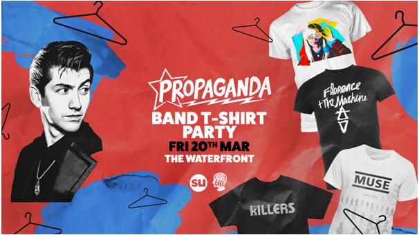 Propaganda Norwich – Band T-Shirt Party
