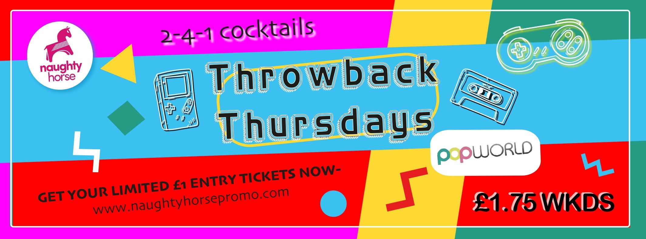 Throwback Thursdays – FRESHERS THROWBACK PARTY!