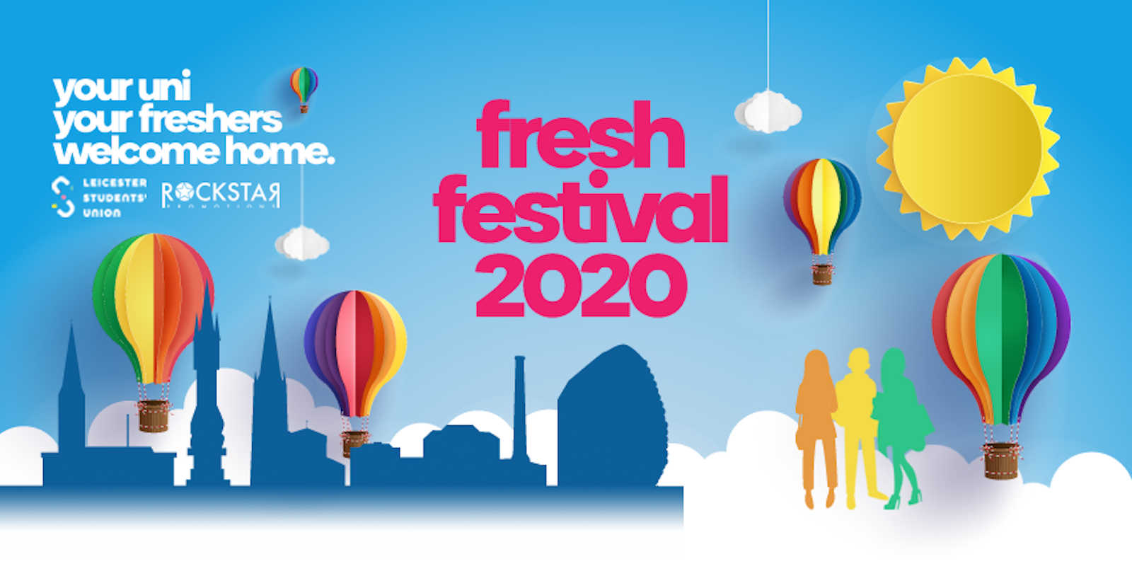 Fresh Festival 2020! University of Leicester Freshers.