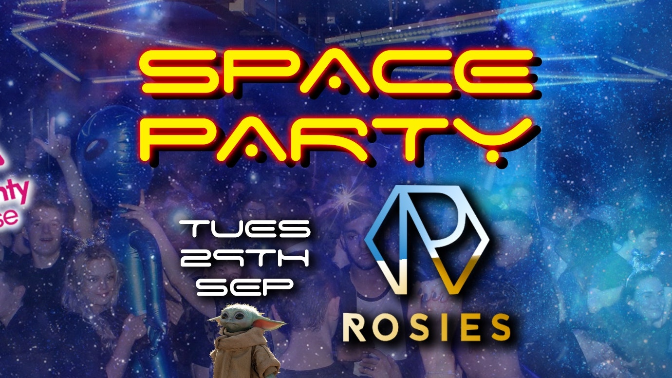 Naughty Horse – FRESHERS SPACE RAVE! Limited £1 Tickets with free j-bomb every Tuesday at Rosies (Birmingham)