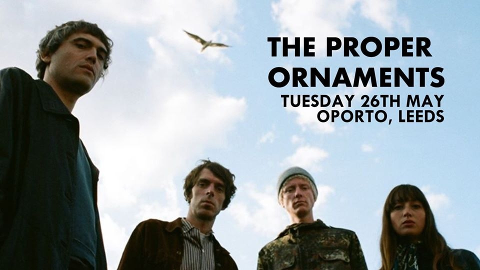 THE PROPER ORNAMENTS – New Date