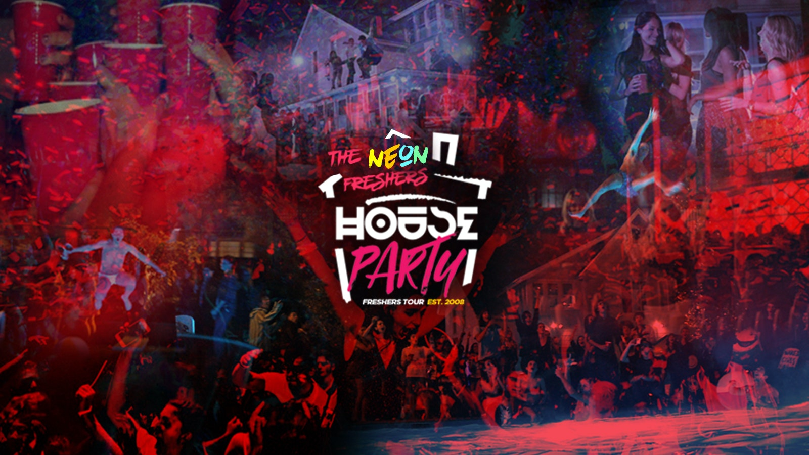 Neon Freshers House Party // Huddersfield Freshers 2020