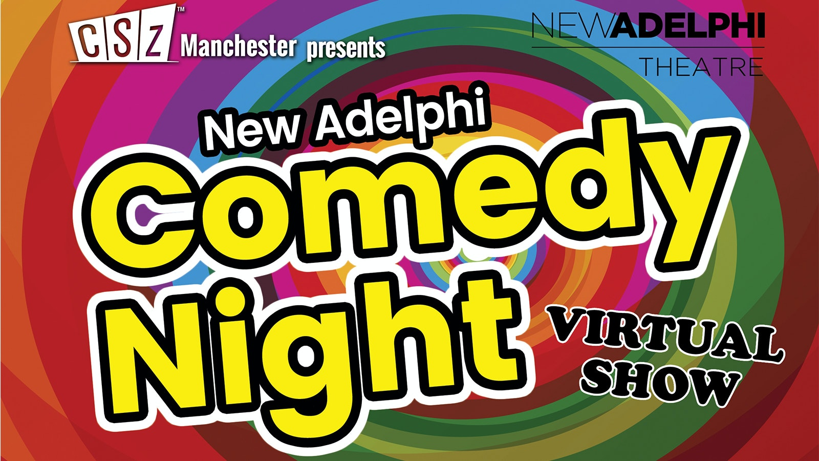 New Adelphi Comedy Night – VIRTUAL SHOW