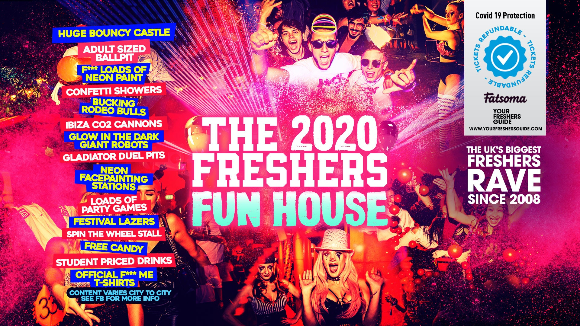 ​Freshers Fun House // Newcastle Freshers 2020