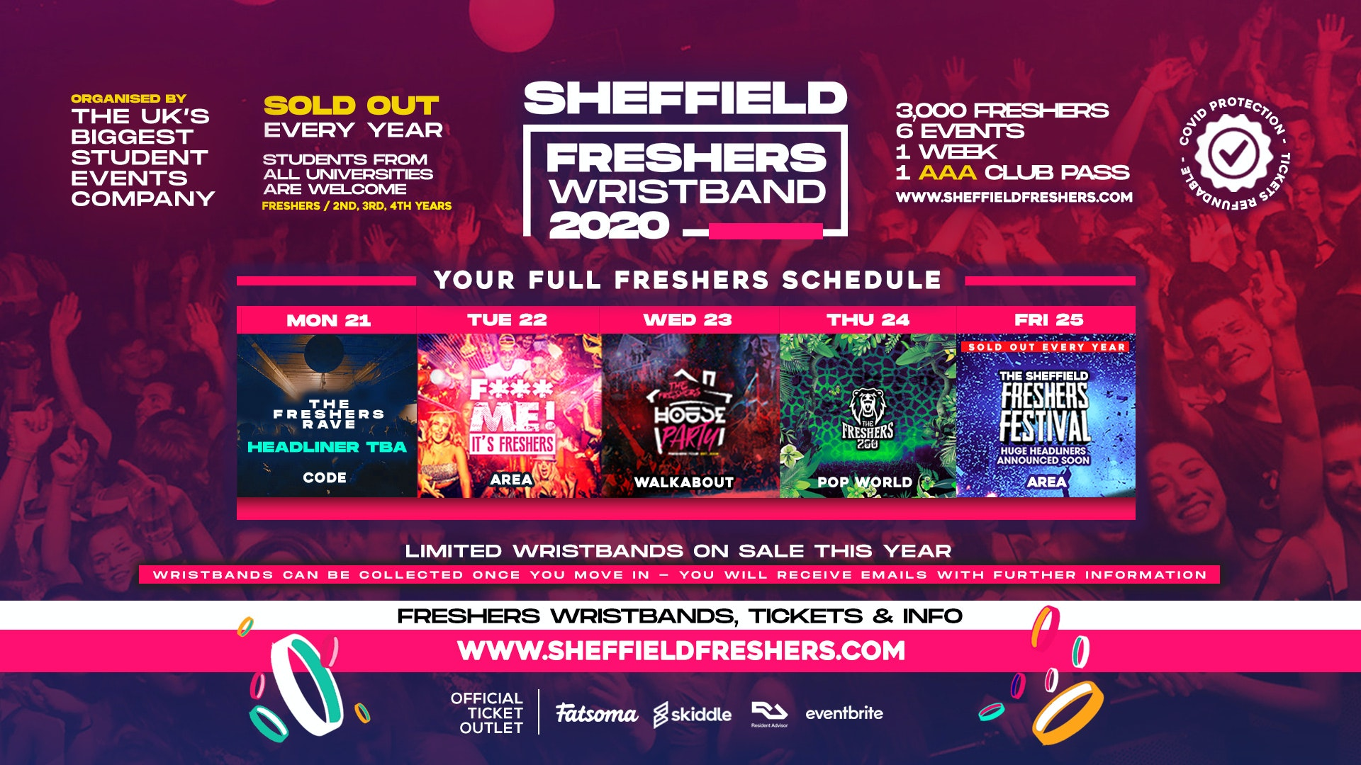 Sheffield Freshers Week 2020 | The Complete Guide