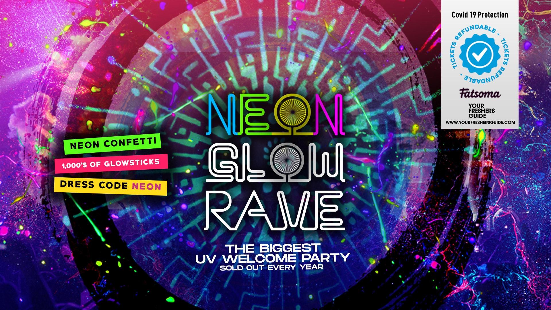 Neon Glow Rave // Birmingham Freshers 2020