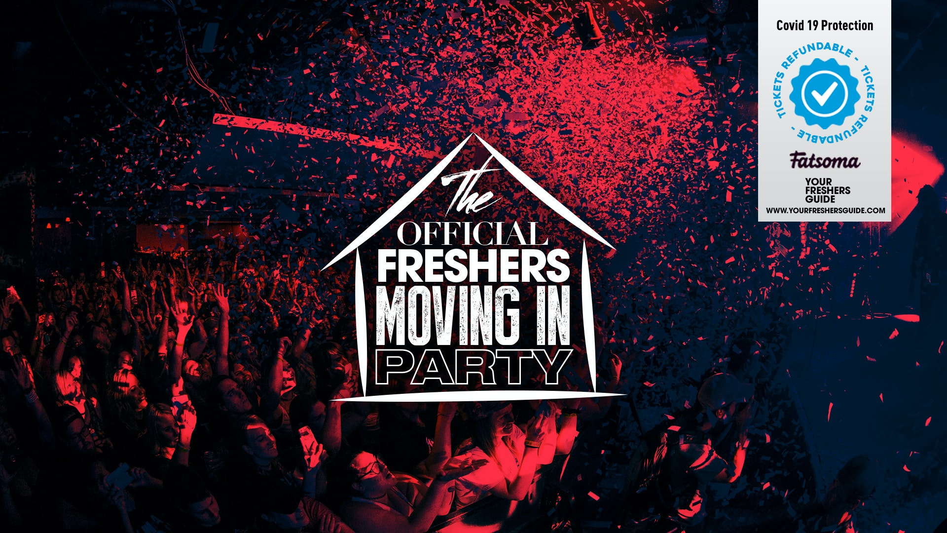 The Northumbria Freshers Moving in Party // Newcastle Freshers 2020