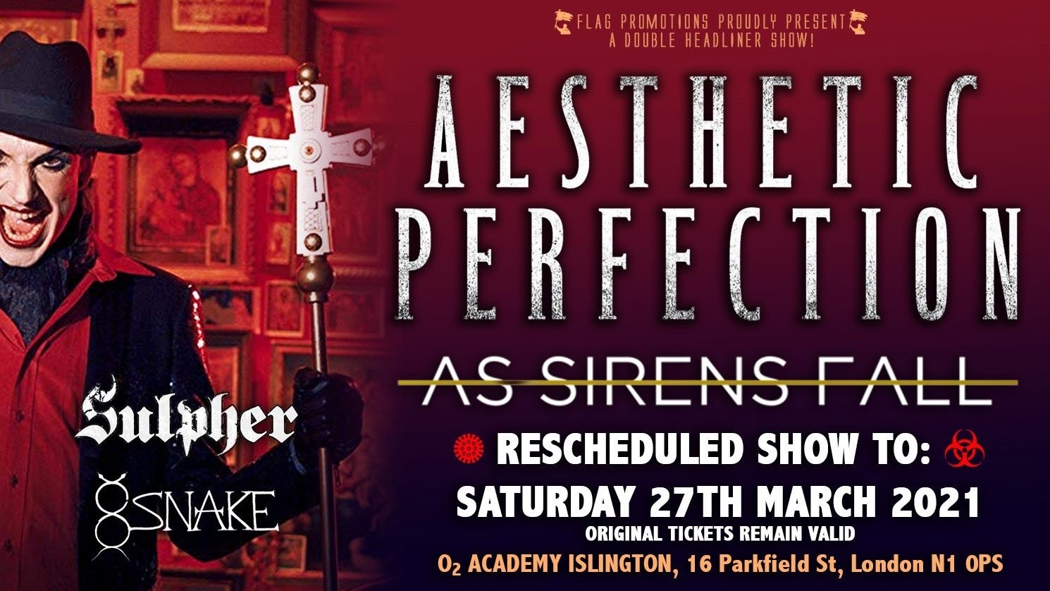 Aesthetic Perfection & AS Sirens Fall London