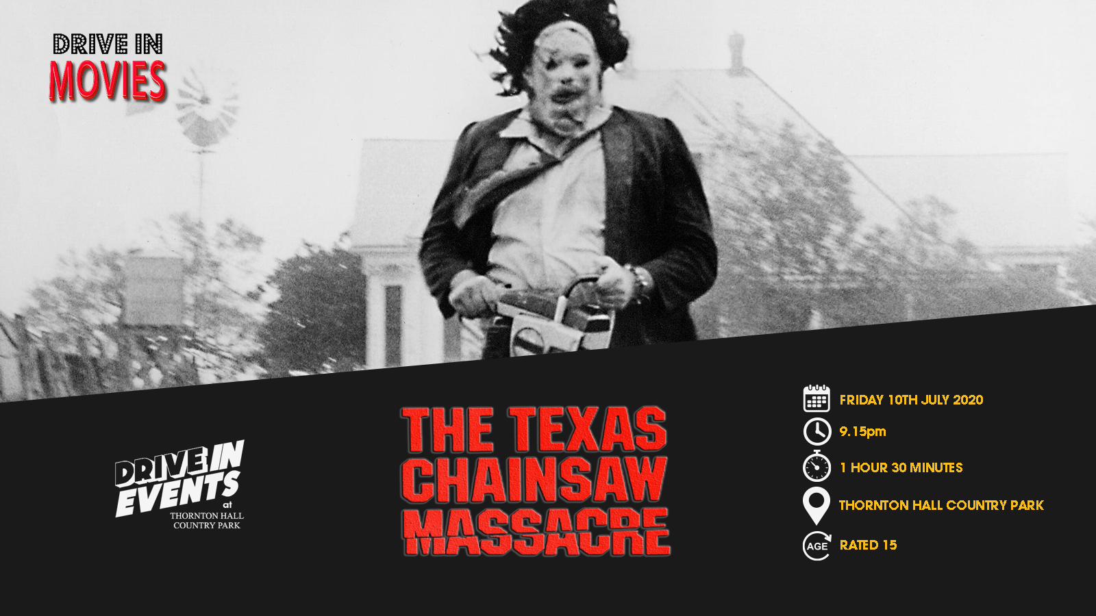The Texas Chainsaw Massacre (Drive In Movie)