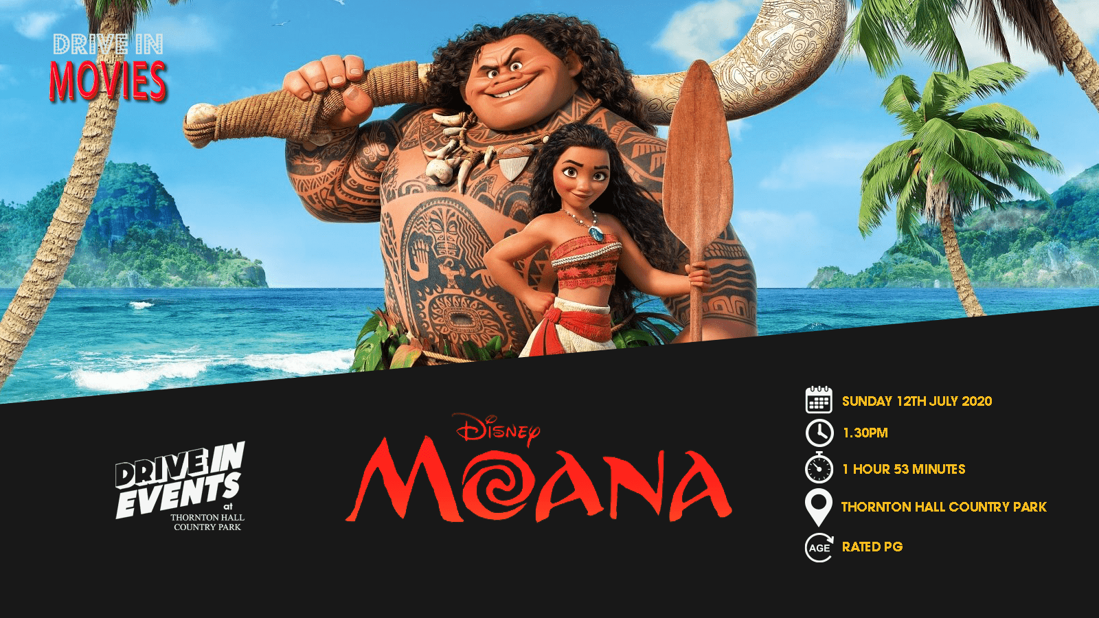 Moana (Drive In Movie)