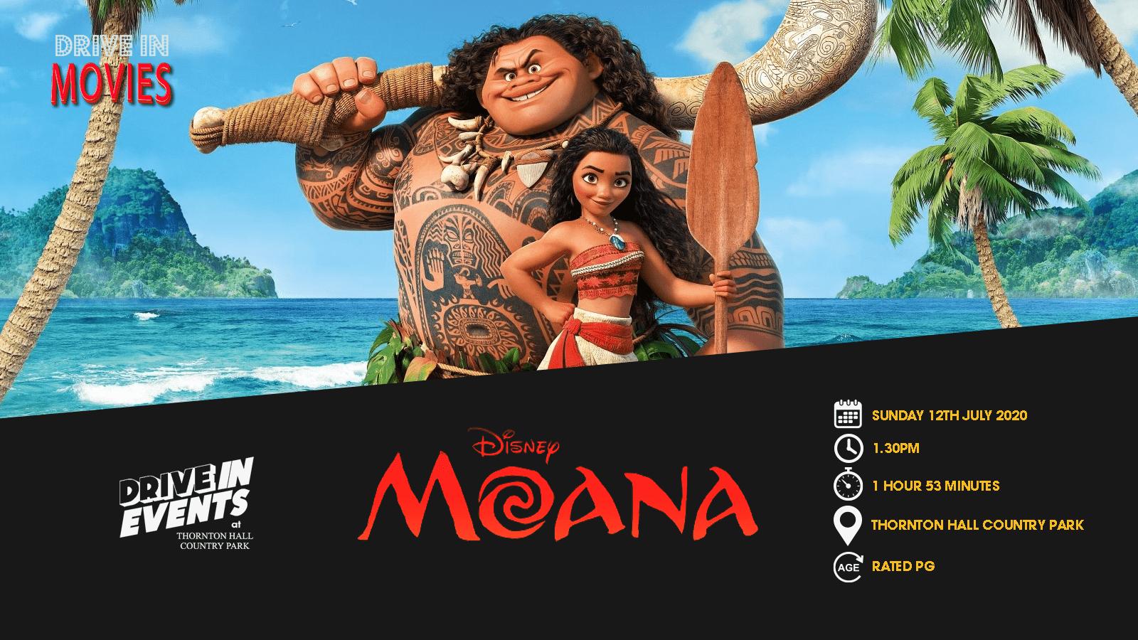 Moana (Drive In Movie)