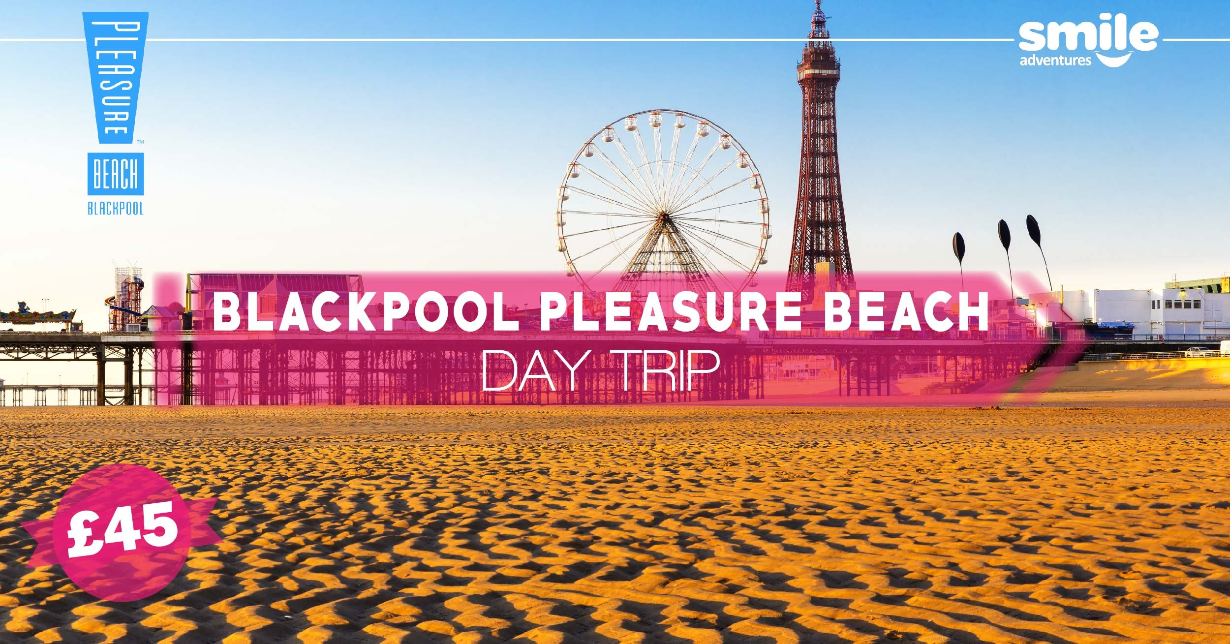 Blackpool Pleasure Beach Day Trip – From Manchester