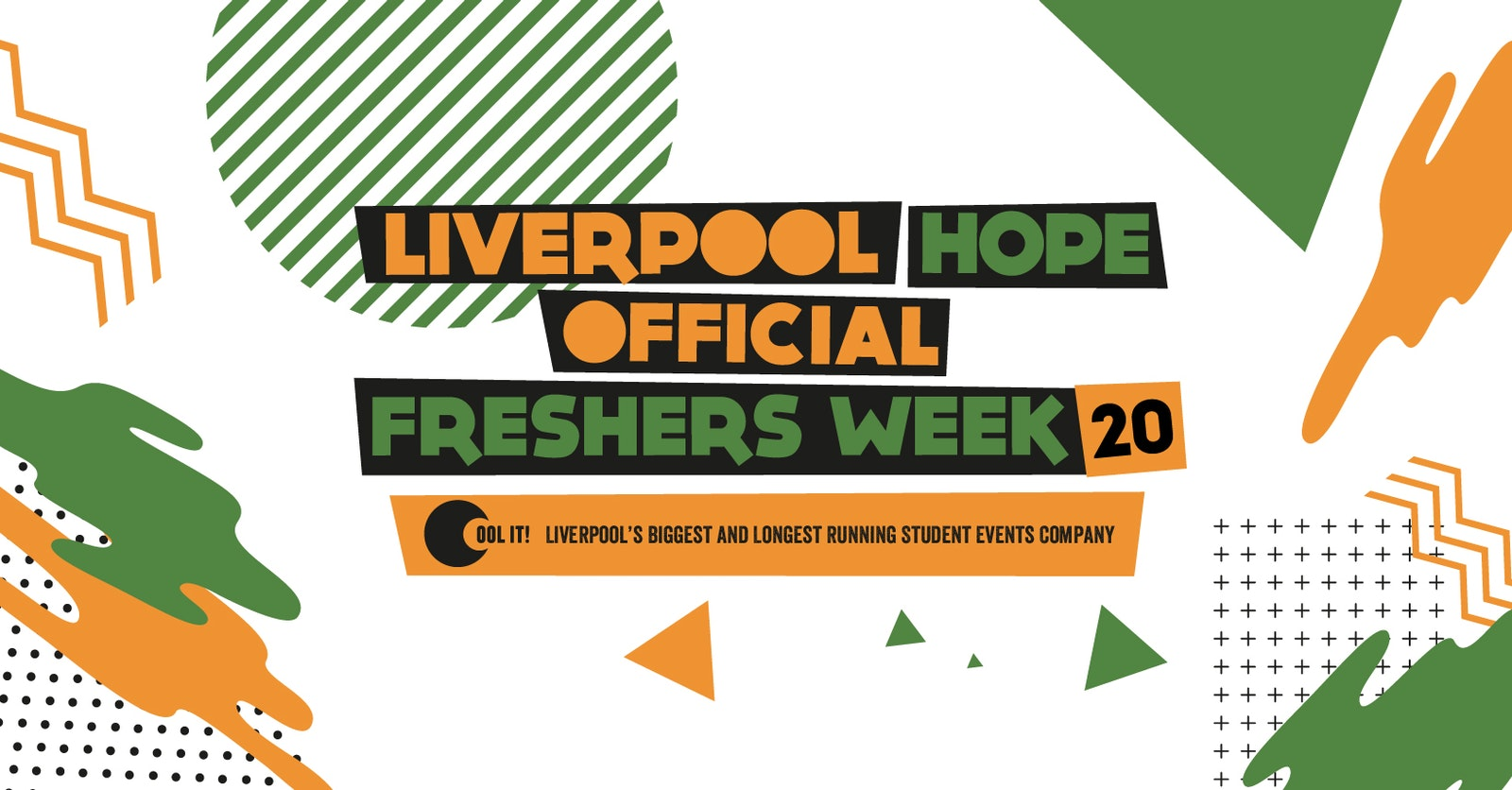 Liverpool Hope University Official Freshers Week 2020