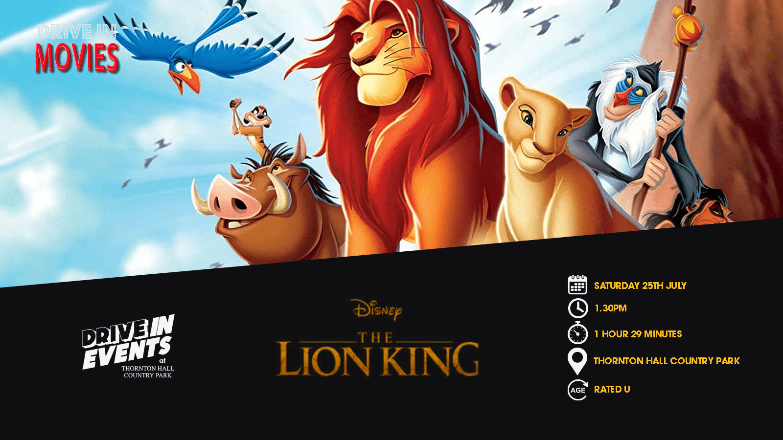 The Lion King 1994 (Drive In Movie)