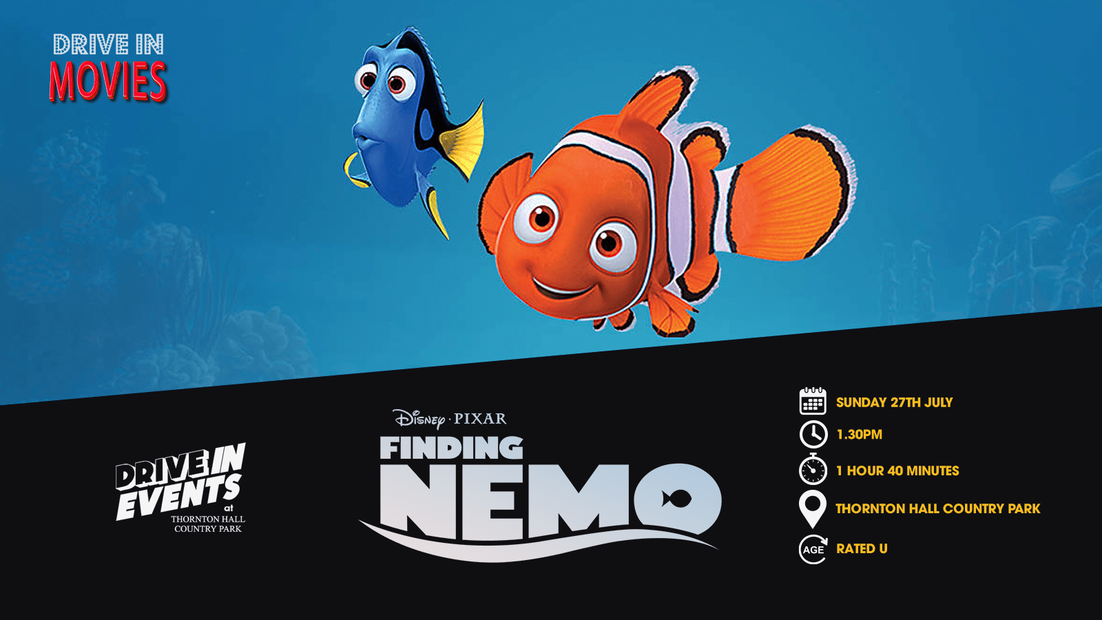 Finding Nemo (Drive In Movie)