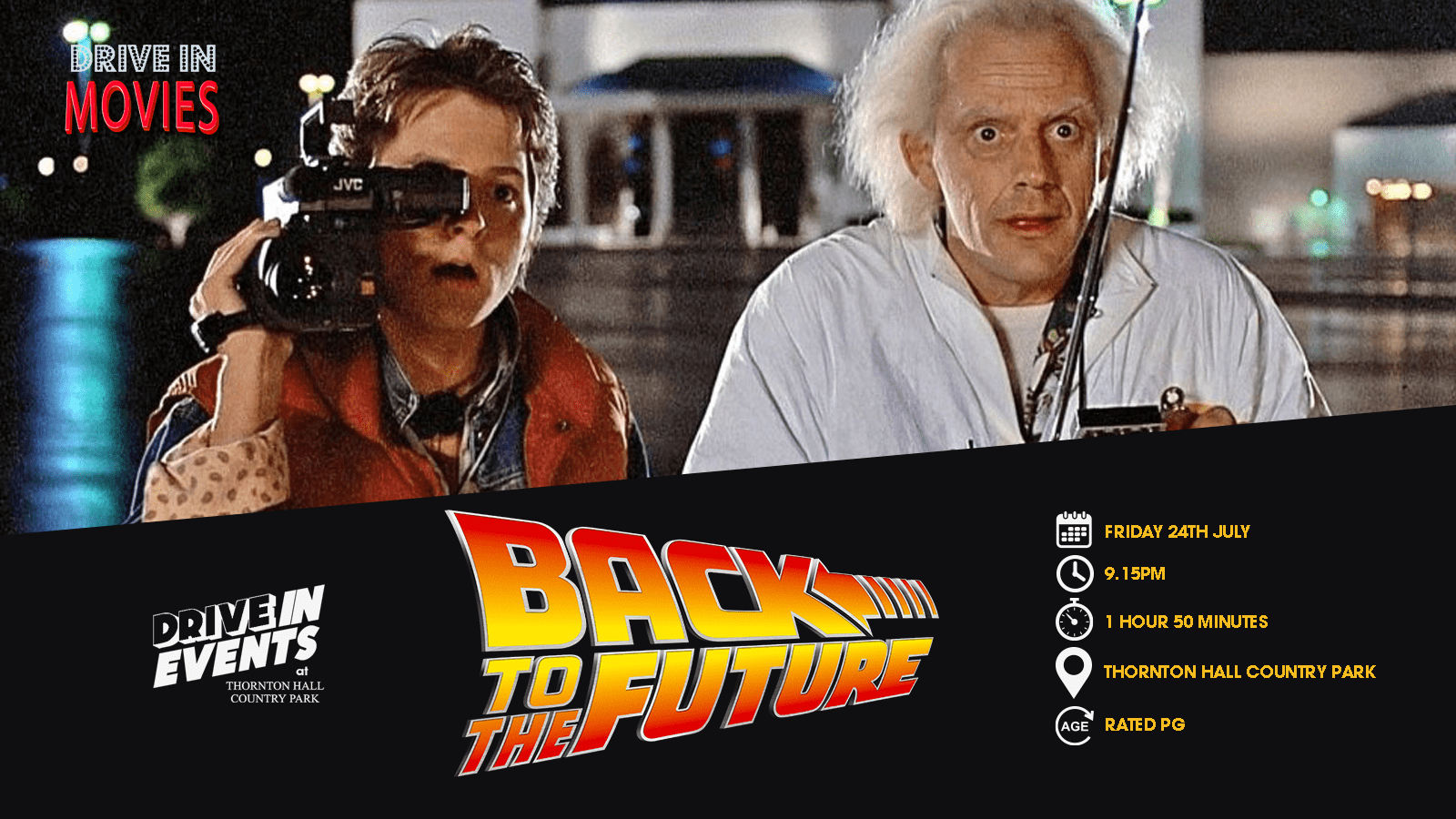 Back To The Future (Drive In Movie)