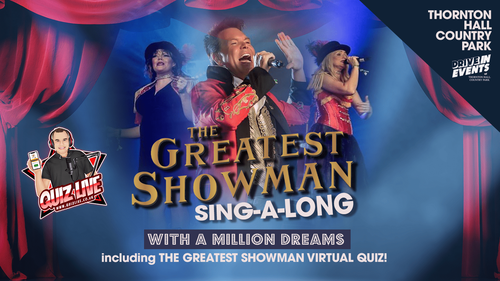 The Greatest Showman SING-A-LONG & QUIZ (LIVE)