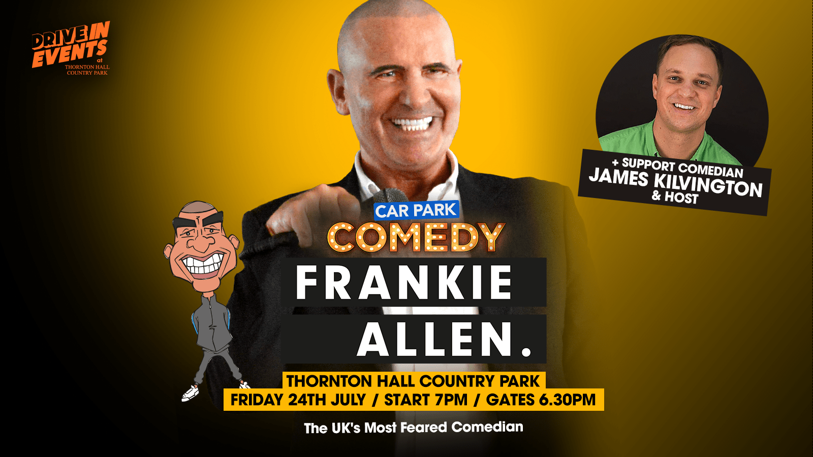 Car Park Comedy (Frankie Allen + Support)