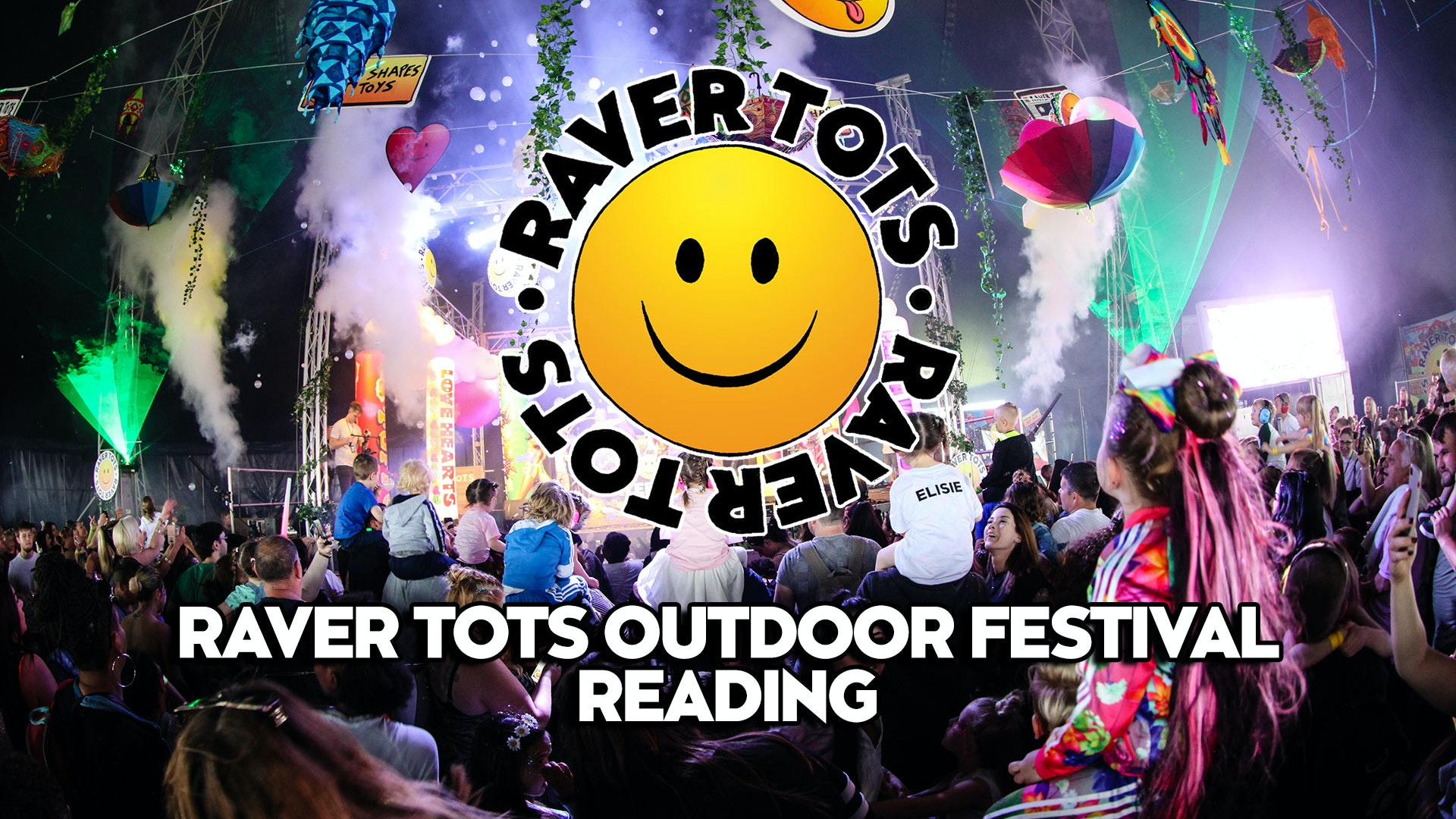 Raver Tots Outdoor Festival Reading 2020