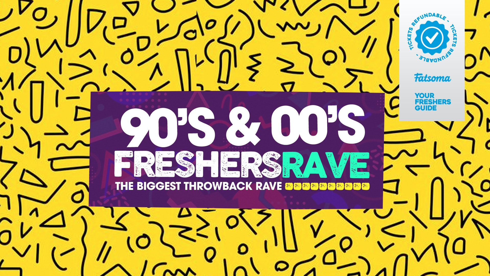 90s & 00s Rave // Birmingham Freshers 2020