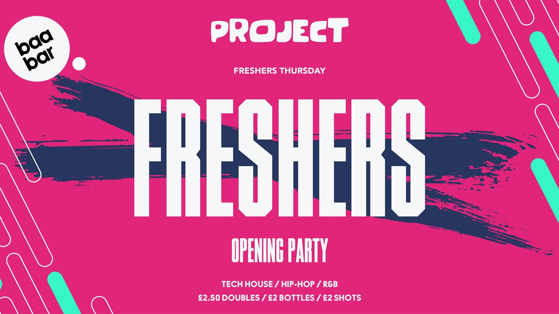 Project : Freshers Thursday : Baa Bar