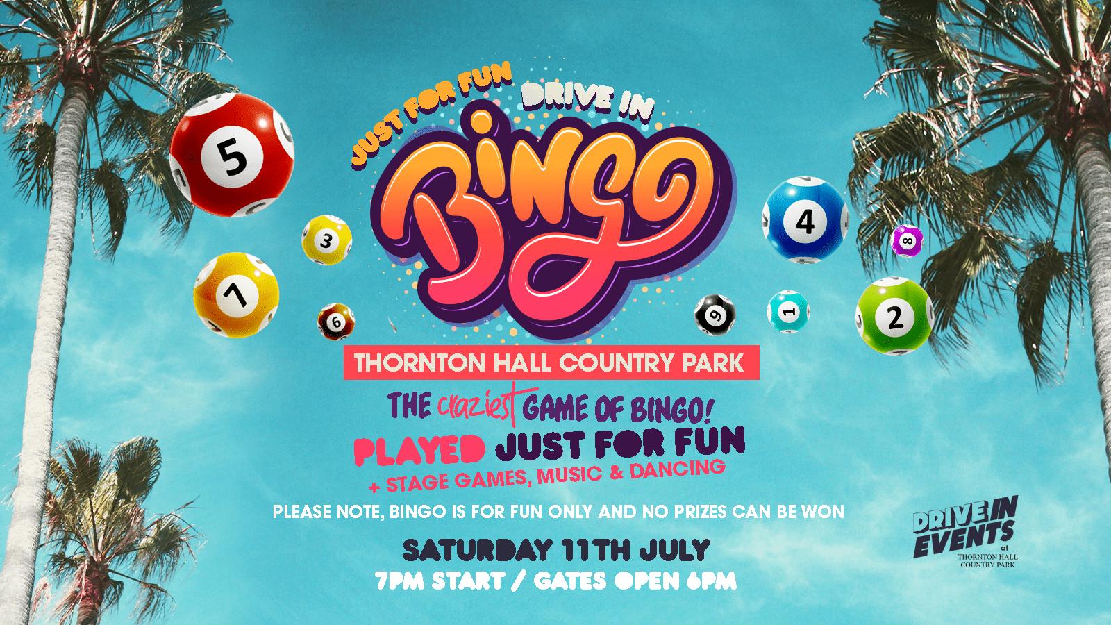 Drive In Bingo (LIVE)